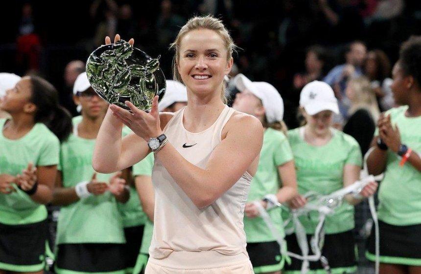 Элина Свитолина стала чемпионкой выставочного турнира в Нью-Йорке