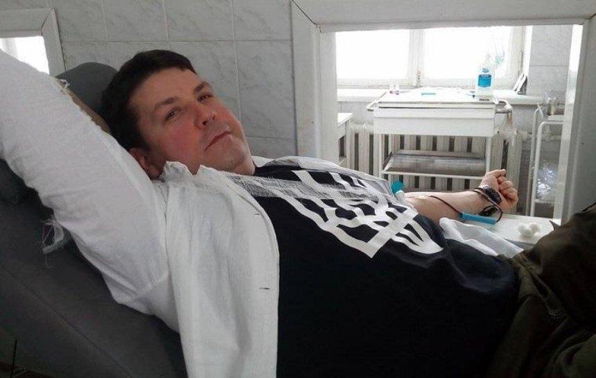 Волонтер розповів про закриття пункту прийому крові при Опіковому центрі