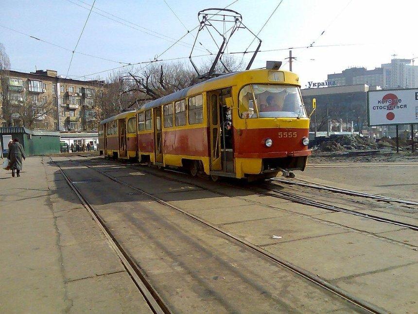 В Киеве планируют обновить трамваи