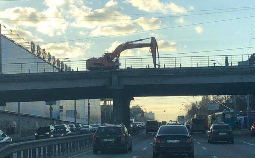 Демонтаж Шулявского моста: как проходят работы (фото)