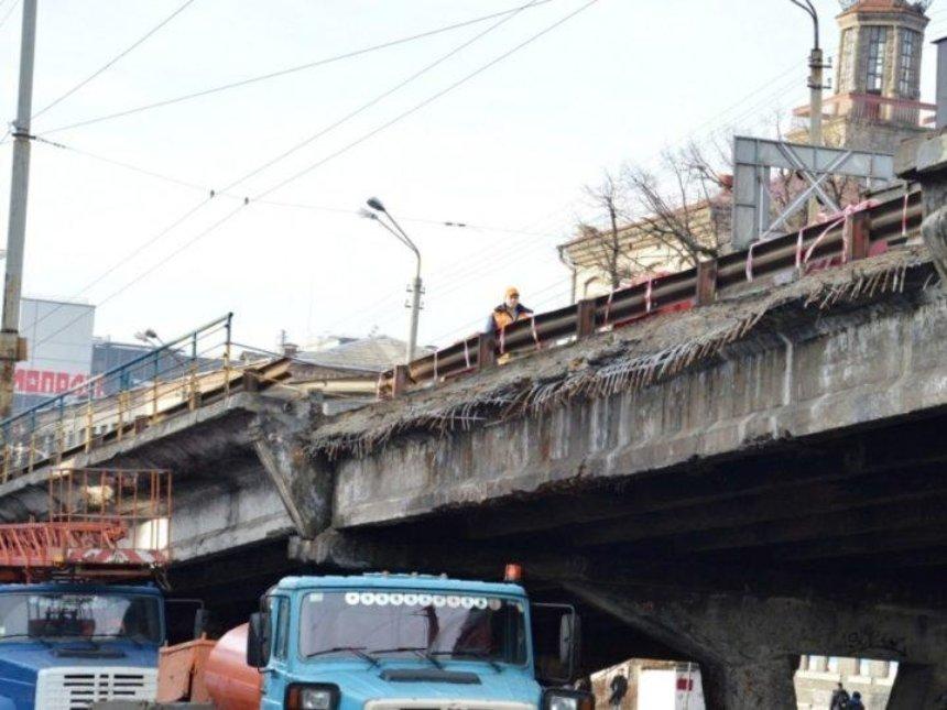 Реконструкцию Шулявского моста оценивают в 1 млрд грн