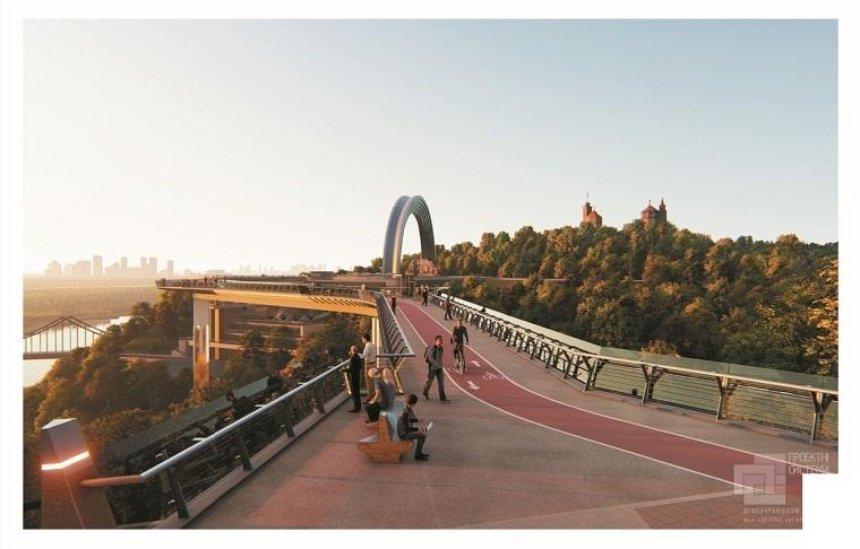 В Минкульте подтвердили, что сообщали КГГА о рекомендациях ЮНЕСКО прекратить строительство туристического моста