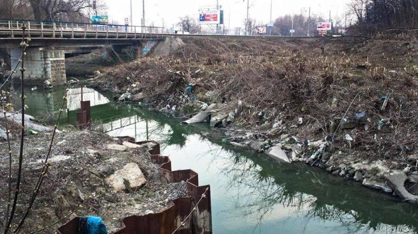 Киевлян приглашают на уборку реки Лыбедь