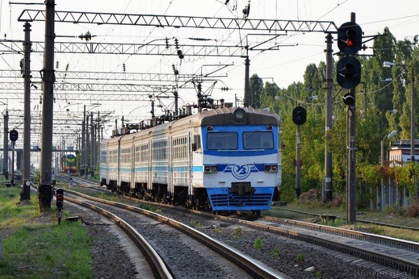 В Киеве временно отменили кольцевое движение городской электрички