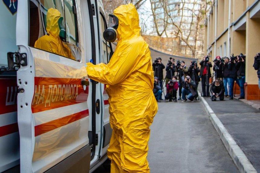 В Днепропетровской и Ивано-Франковской областях зафиксировали первые случаи заражения коронавирусом