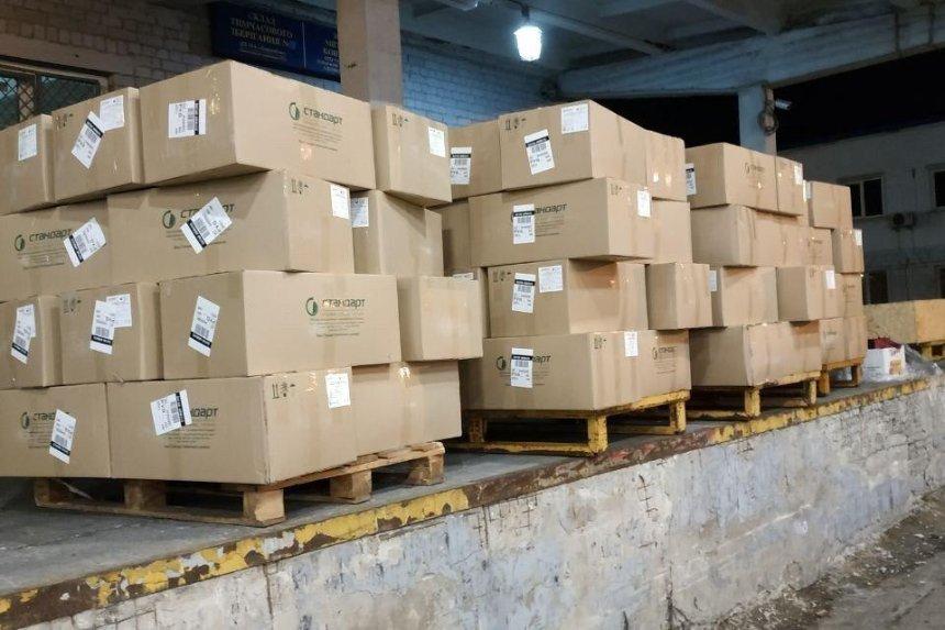 В «Борисполе» конфисковали 1,5 тонны медицинских масок — их хотели вывезти в Италию и Катар