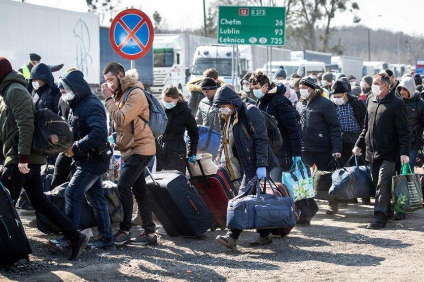 Ажиотаж на границе: за день в Украину вернулись 37 тысяч граждан
