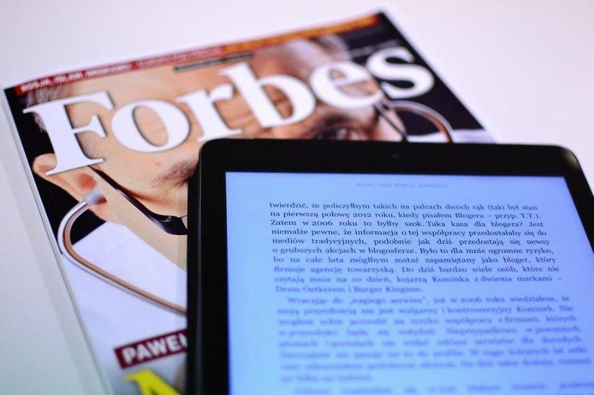 Журнал «Forbes.Украина» объявил о перезапуске