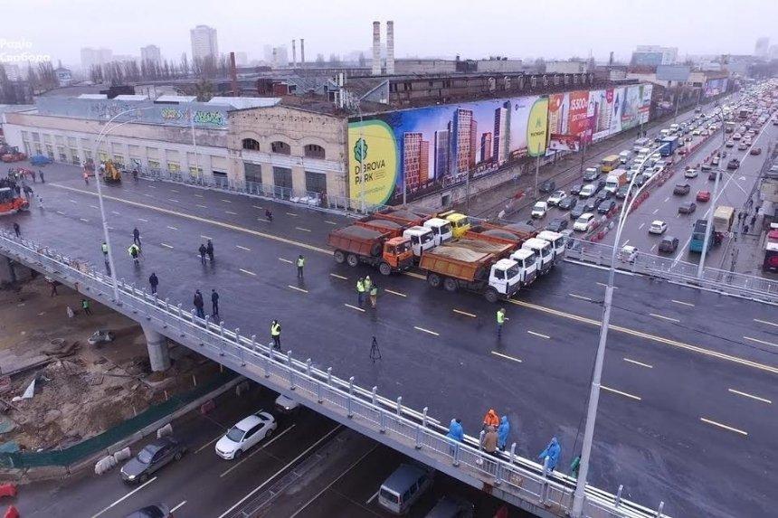 Кличко пообещал достроить Шулявский мост до лета