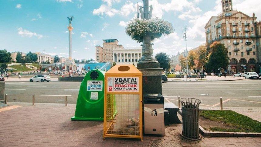 В Киеве запустили интерактивную карту мусорных контейнеров