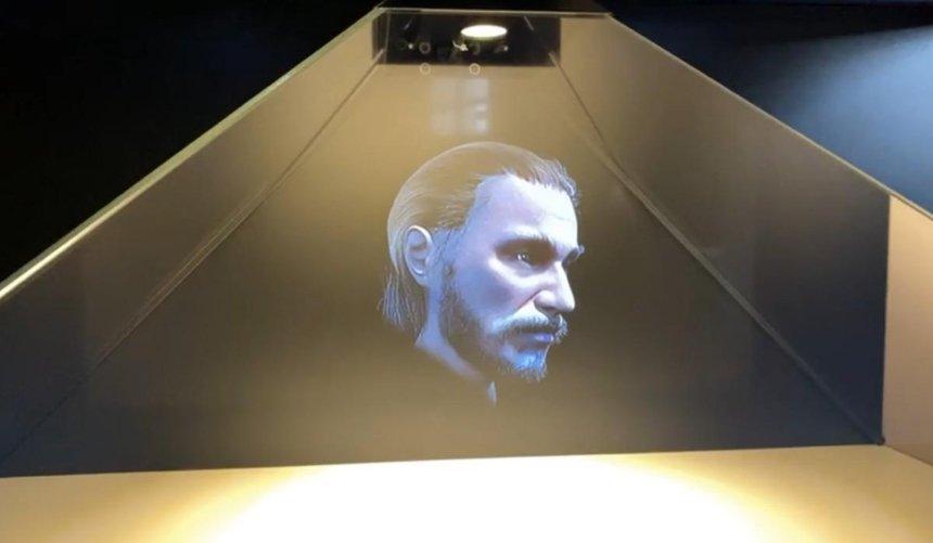 ВСофийском соборе показали 3D-голограмму лица Ярослава Мудрого: как выглядел киевский князь