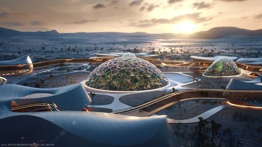 Как будет выглядеть первый город на Марсе