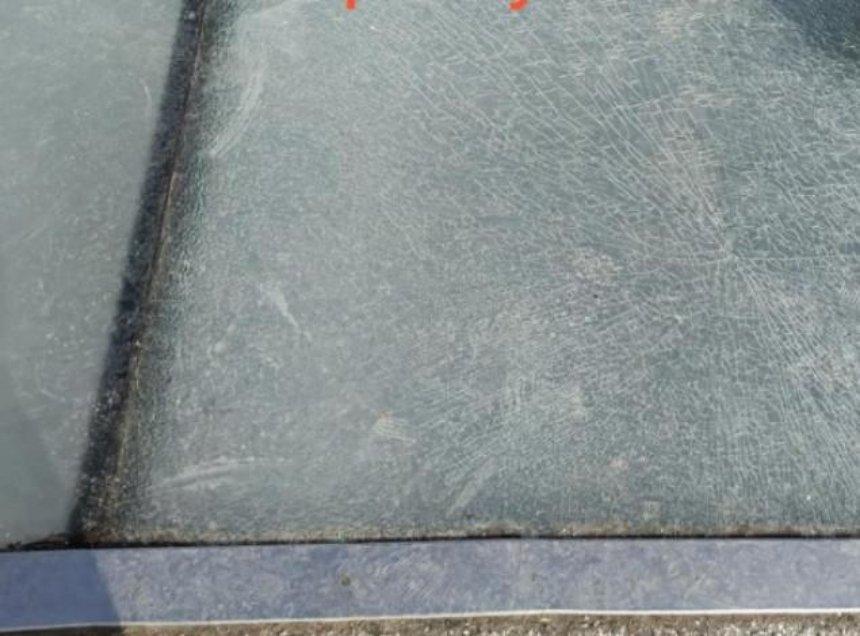 В Киеве на «мосту Кличко» снова треснуло стекло (обновлено)