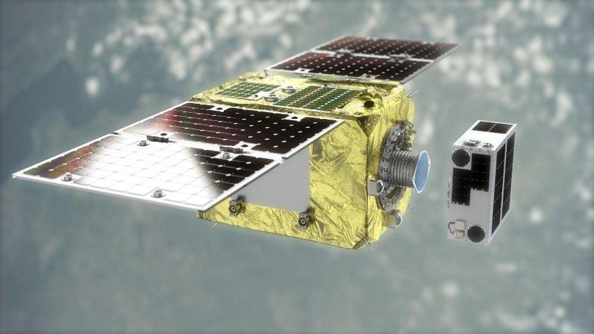 В космос запустили спутник, созданный для очистки орбиты от мусора
