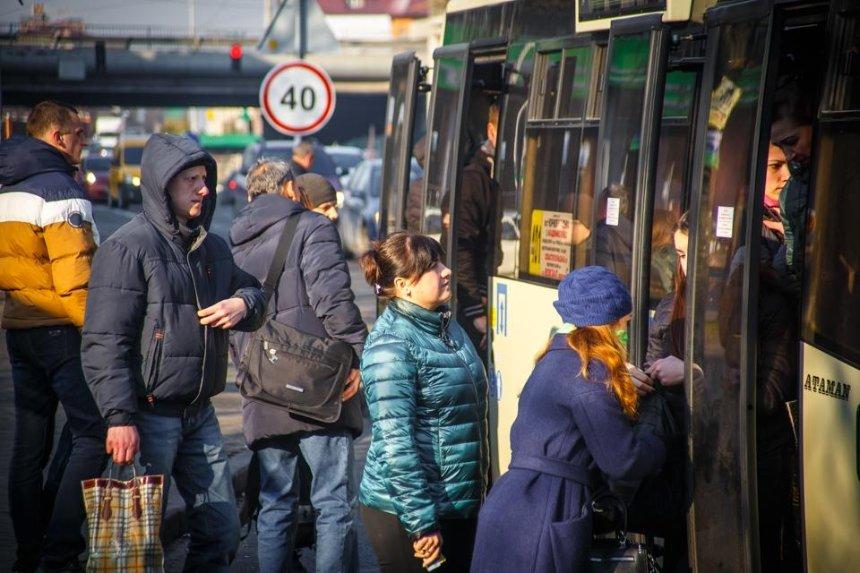 В киевских маршрутках с 27 марта подорожает проезд