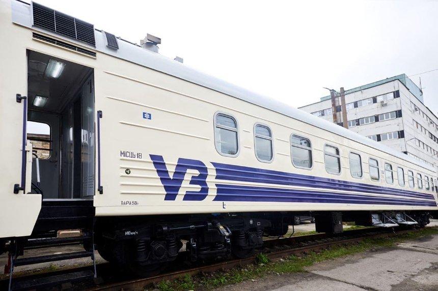 «Укрзалізниця» закупает инклюзивные вагоны: с пультом управления и кнопкой вызова проводника