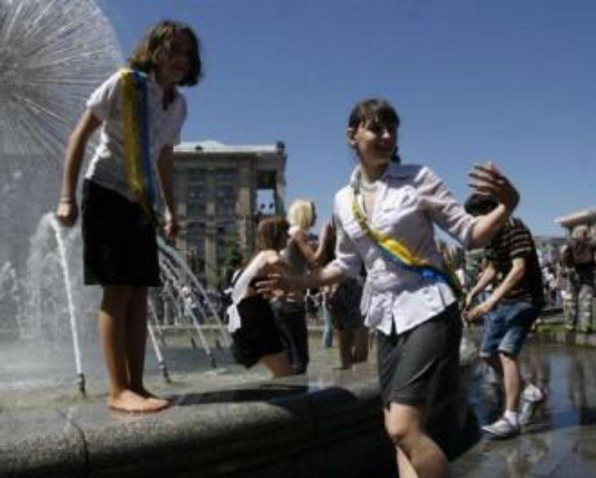 В четверг школьники смогут искупаться в фонтанах