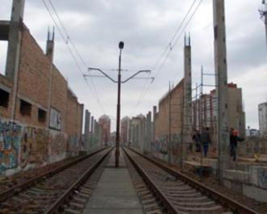 Началась реконструкция скоростного трамвая на Троещине