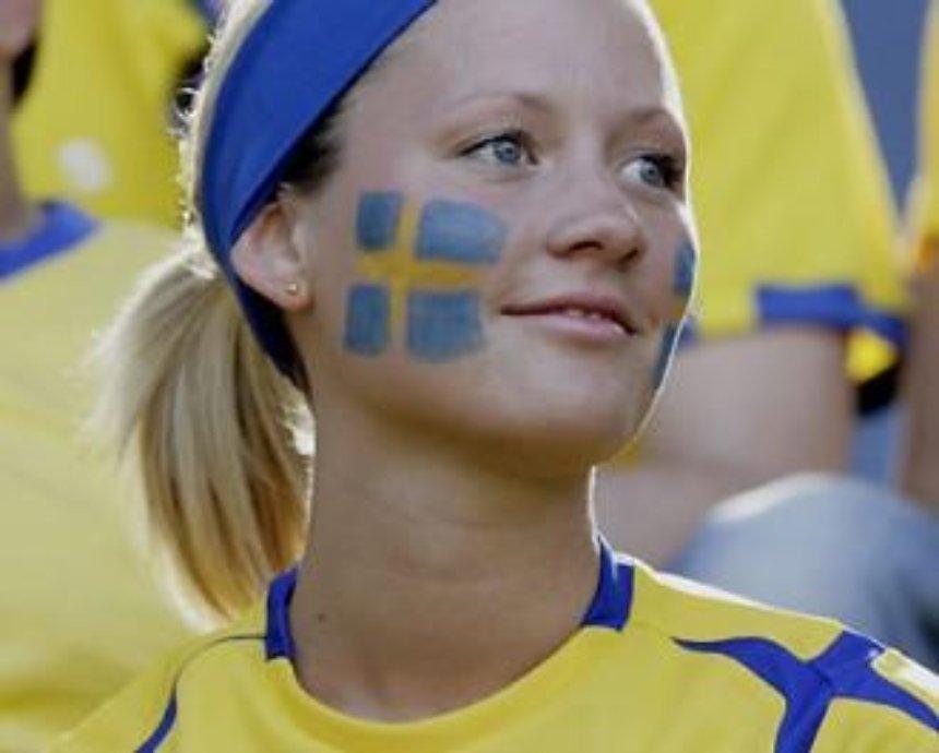 Шведские фаны пройдут по Киеву маршем, в дни проведения матчей с участием их сборной