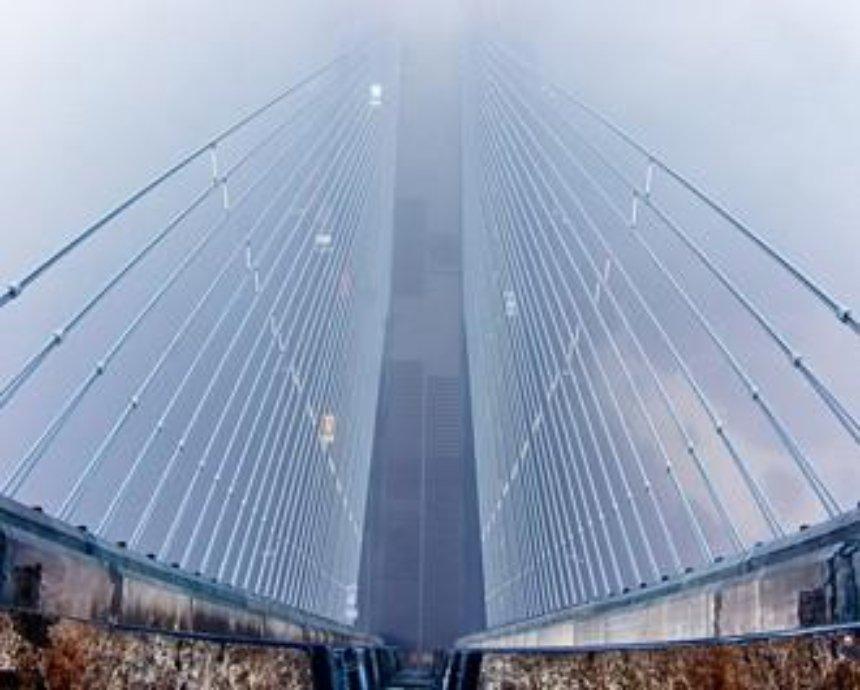 136 м над уровнем Днепра: ночевка на верхушке Южного моста