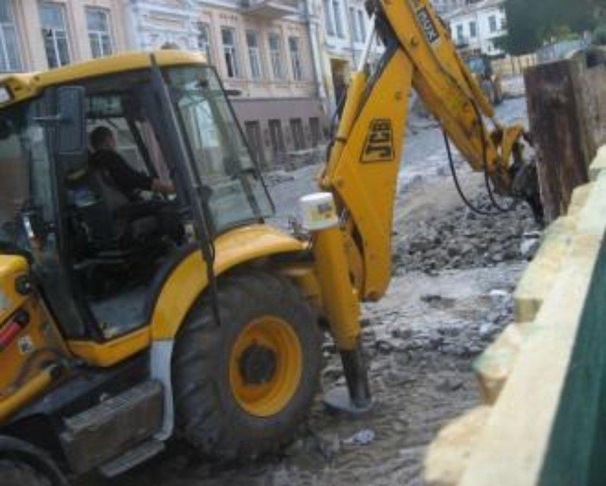 «Реконструкция» Андреевского спуска в реальном времени: смотрите онлайн-трансляцию
