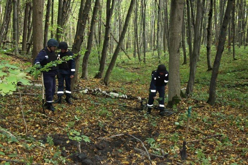 В столице обнаружили четыре опасных снаряда (фото)
