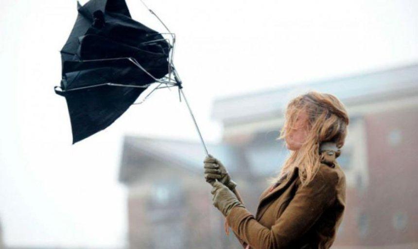 На Киев движется шквальный ветер