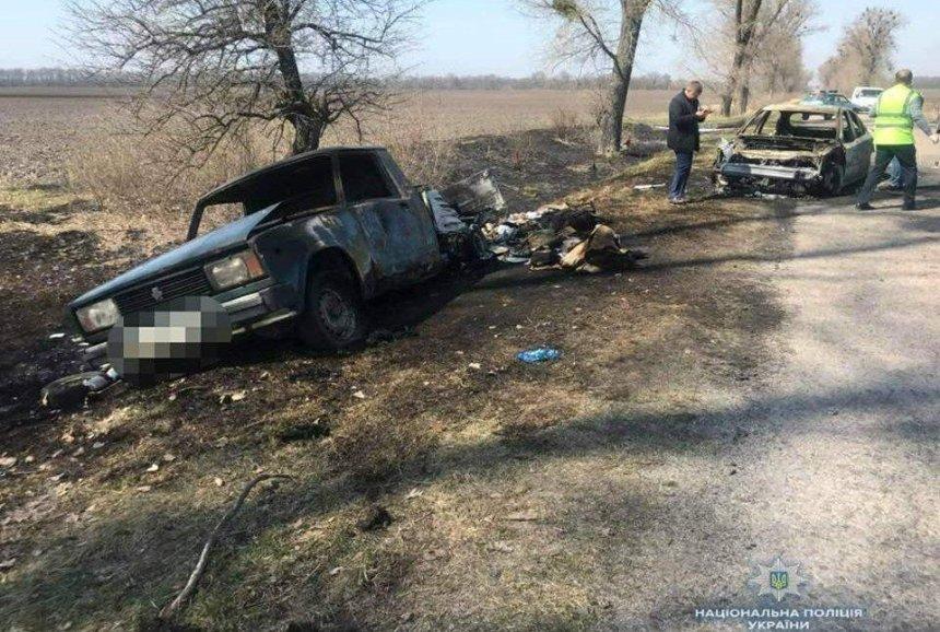 Под Киевом напали на машину «Укрпочты», развозившую пенсии