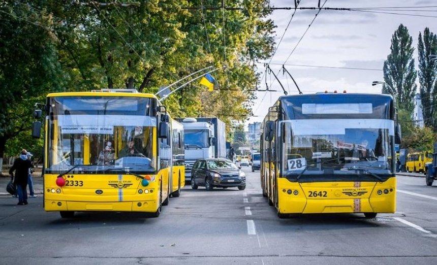 Киевский общественный транспорт проверит полиция