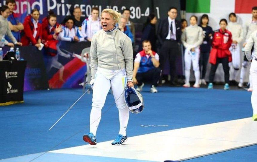 Украинская саблистка стала лучшей в Кубке мира по фехтованию