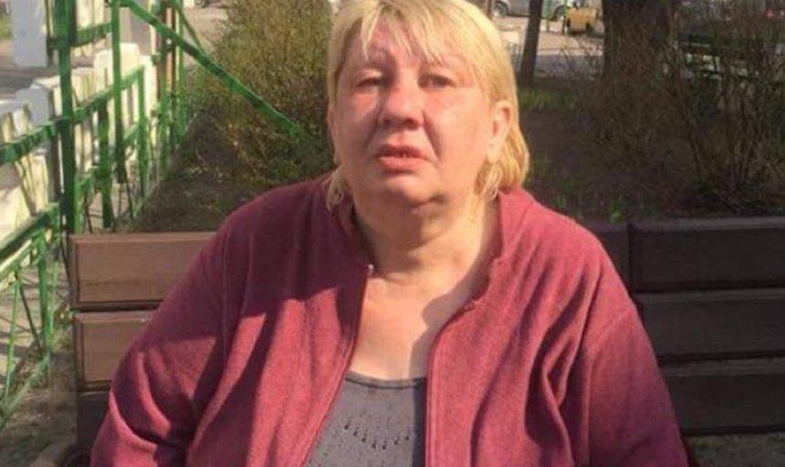 Помогите найти: в Киеве ищут родственников женщины с потерей памяти