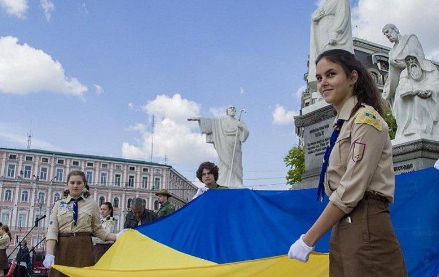 В Киеве пластуны отметили 100-летие своей организации (фото)