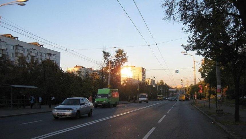 Голосеевский проспект в Киеве расширят