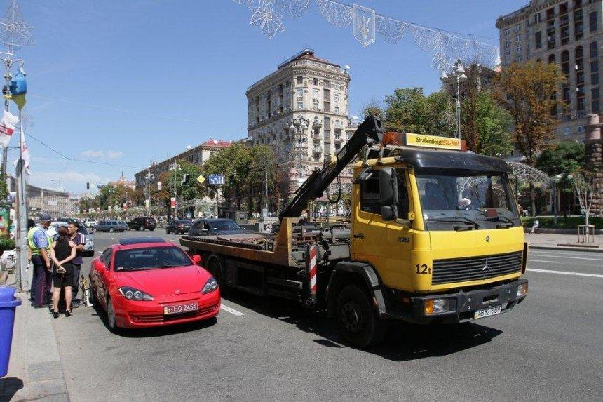 С понедельника машины «героев парковки» будут эвакуировать