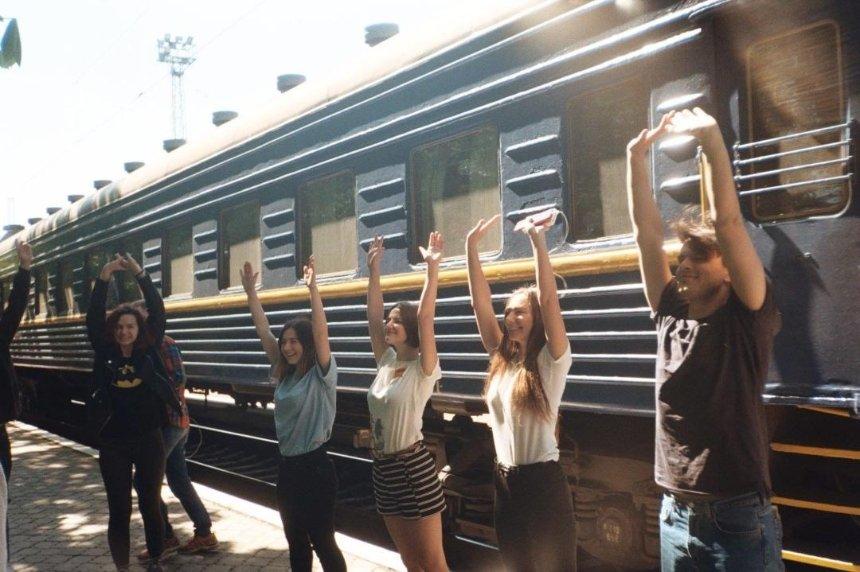«Укрзализныця» в конце апреля запускает арт-поезд ГогольTrain (видео)