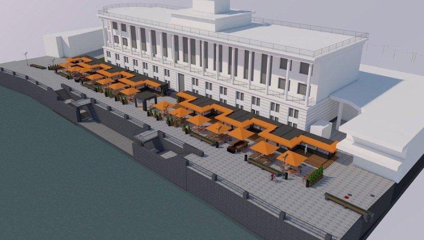 На Поштовій площі відкриється фуд-проект «Бухта Food Station»