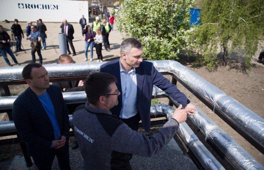 Кличко перевірив нові фільтраційні станції та відзначив, що потужності очисних систем збільшать втричі