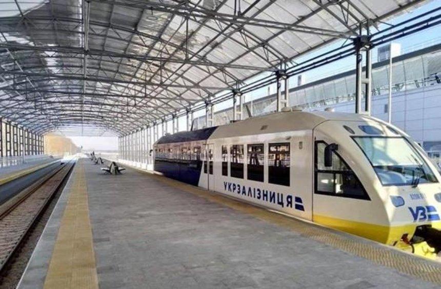 Бориспольский экспресс снова сломался (фото)