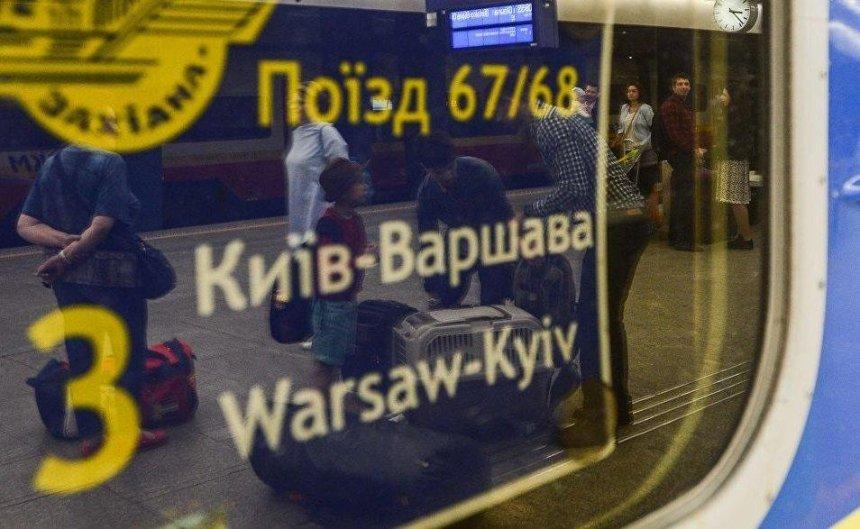 Поезд Киев — Варшава назвали одним из лучших ночных маршрутов Европы