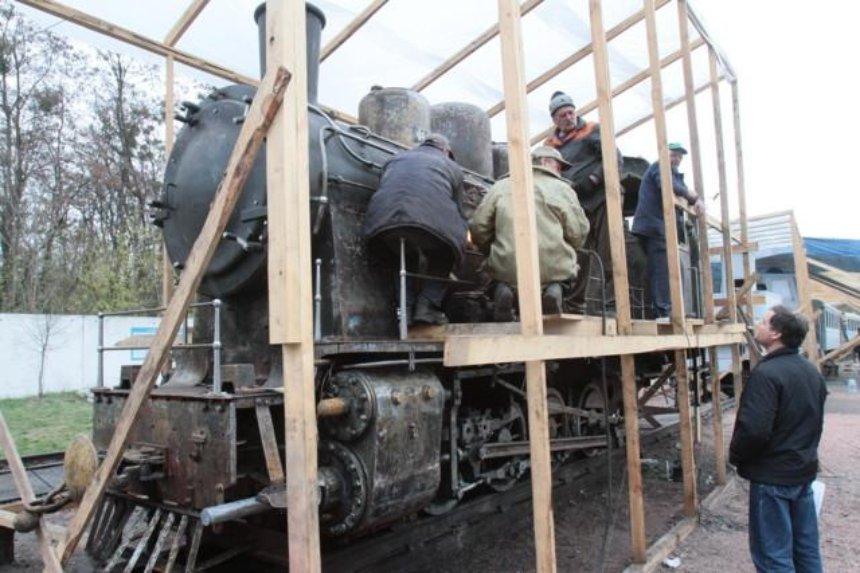 В Сырецком парке детская железная дорога изменится до неузнаваемости (фото)