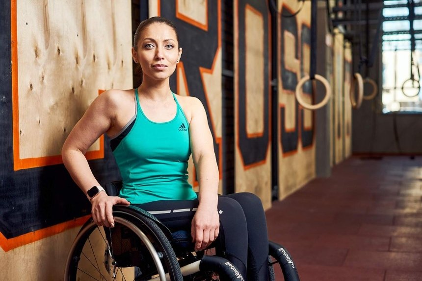 Як тренуються люди з інвалідністю: розмова з Уляною Пчолкіною