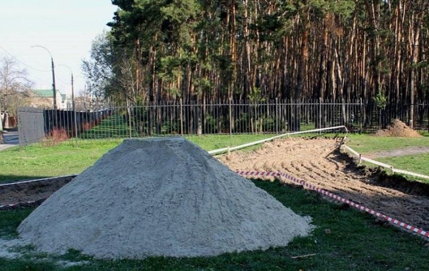 В парке «Совки» сделают два новых входа (фото)