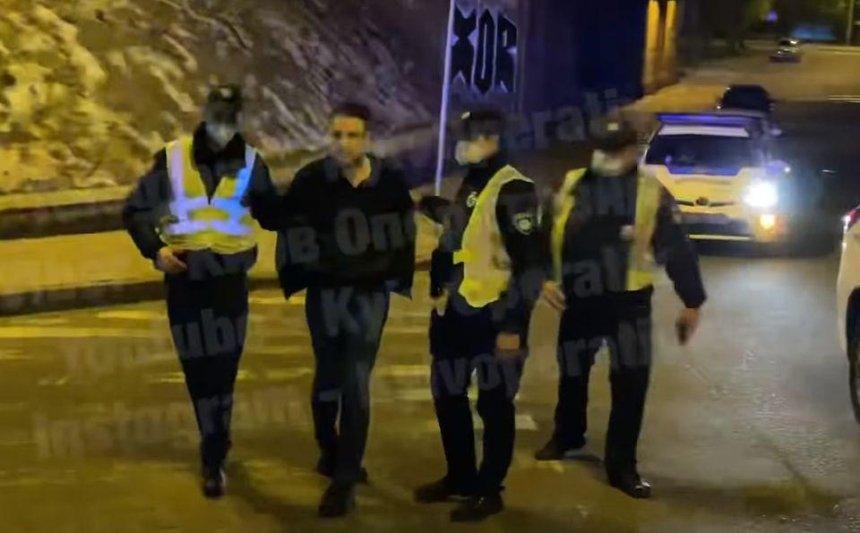 Уволенный замглавы КГГА Слончак заявил, что не нападал на полицейского
