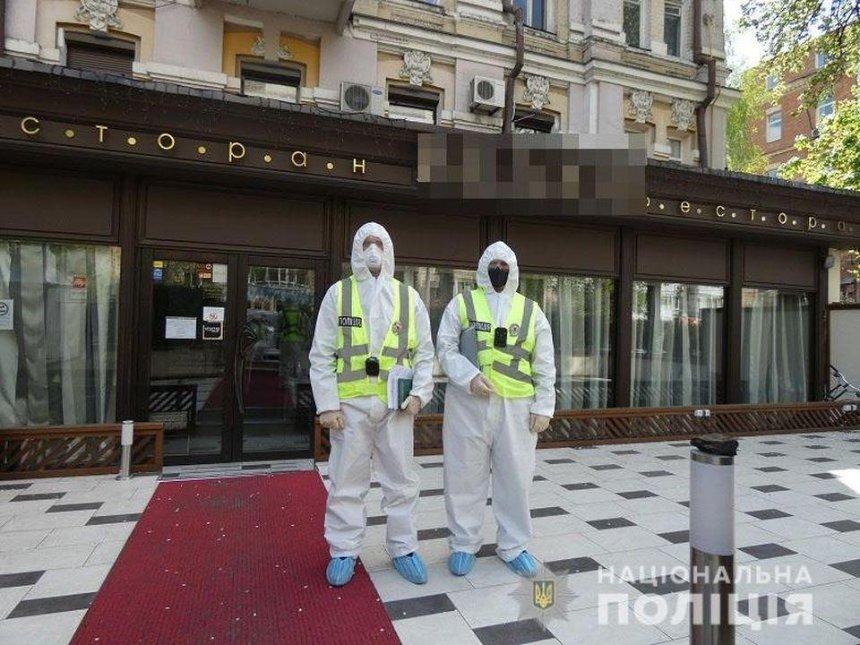 Полиция пришла с проверкой в ресторан депутата Тищенко