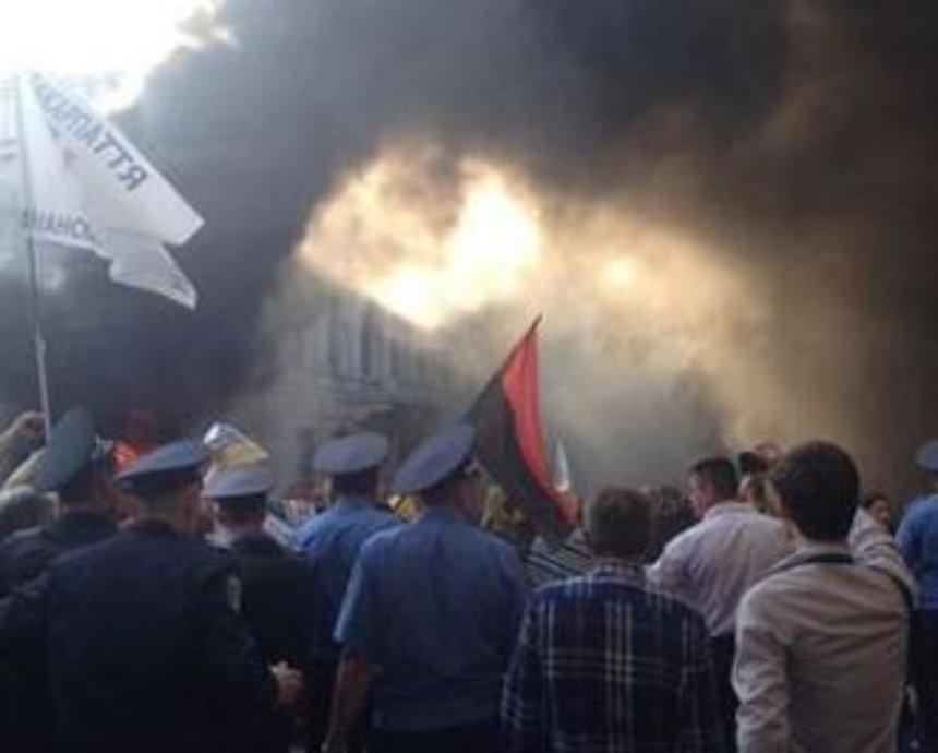 Милиция открыла уголовное дело по факту столкновений возле Рады