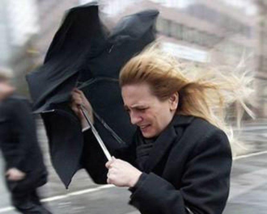 В Киеве сегодня объявлено штормовое предупреждение