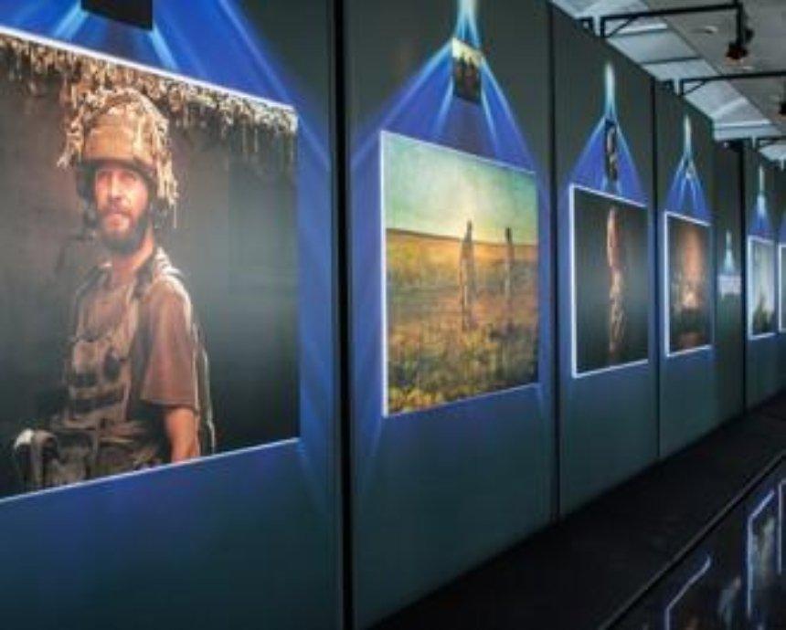 В Борисполе пассажиров будут встречать 16 защитников Донбасса (фото)