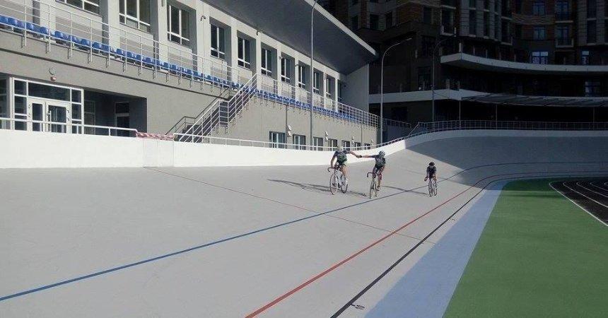 Київський велотрек тренуватиме новачків із власними велосипедами безкоштовно