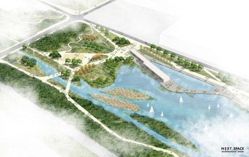 Стало відомо, як виглядатиме парк Почайна (фото)