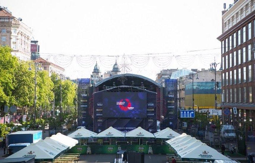 Eurovision Village: як виглядає містечко Евробачення на Хрещатику (фото)